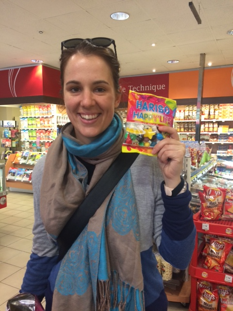Isabelle Fassbind the secret to a 'happy life' …it's in a packet!