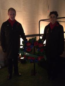 Maddie Price and Luke Krause will lay the wreath on behalf of all of Voices of Birralee.