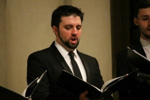 Birralee alumnus, Daniel Smerdon who is now performing with Opera Queensland.