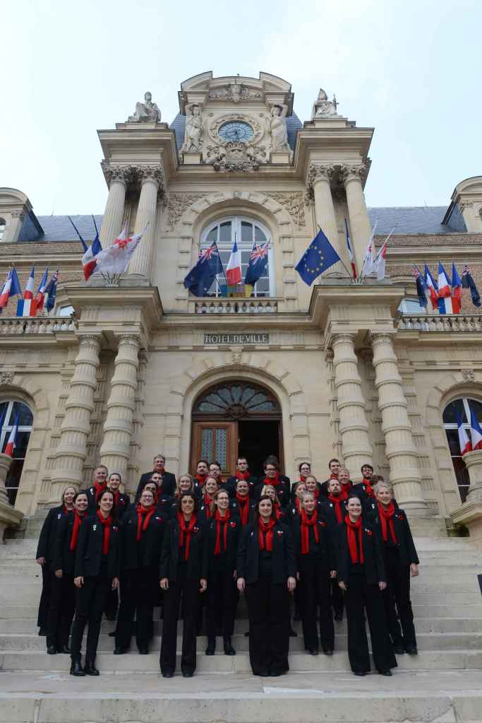 Our Anzac Commemoration Choir tours France in 2015.
