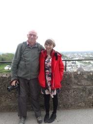 Phil and Bridie in Salzburg.