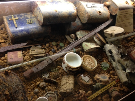 Artefacts from WW1.