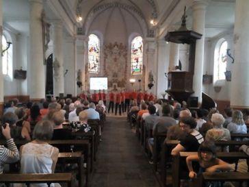 Allonville Service & Concert, images by Eric Brisse