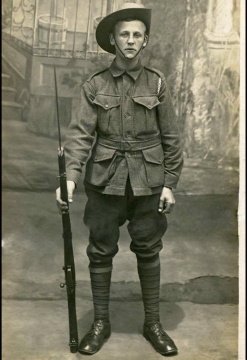 Private Joseph Hind (supplied by Melinda Freeman)