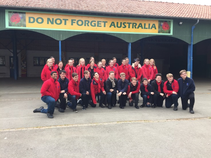 Our Anzac Day Commemoration Choir at the Victoria School (pic supplied by John W)