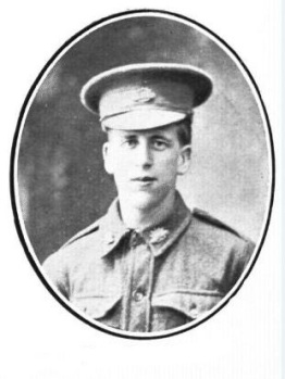 Private James Alexander McAllister killed on 26 September 1917.