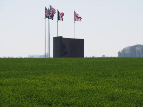 Le Hamel The Australian Corps Memorial Park (pic by Brian)