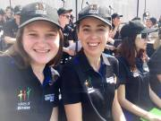 Kate Holley & Meg at ANM (pic Meg)