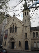 Our choir's first performance venue, Église Protestante des Batignolles (pic by Brian Wood).