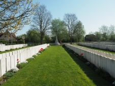 Bailleul Communal Cemetery (pic by Brian)