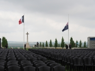 Chairs ready for the Dawn Service (Pic by Brian)