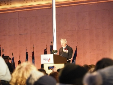 His Royal Highness Prince Charles delivers his address (pic by Brian)
