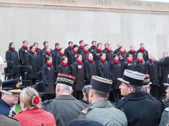 The choir sings (pic by Brian)