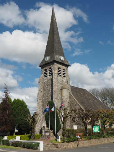 The town of Bullecourt (pic by Brian)
