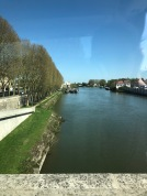 The choristers treated to lovely views on our bus ride to Amiens (pic by Tilly)