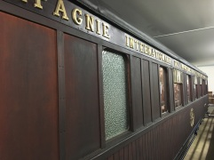 The Compiègne Wagon where the armistice was signed on 11 November 1918 (pic by Kerry)