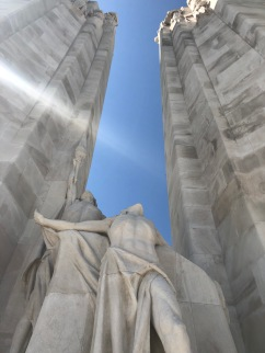 Canadian National Vimy Memorial (pic by Rachel)