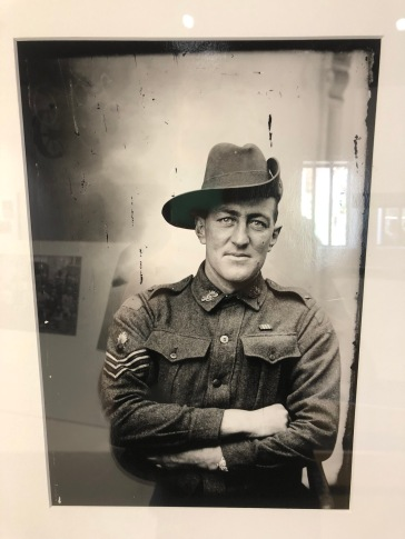 """""""This photo in particular resonated with me, of an Australian solider. It was fantastic to see a snapshot of what people and life was like 100 years ago."""" Rachel Rollo"""