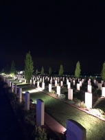 The graves of Villers-Bretonneux (pic by Tilly)