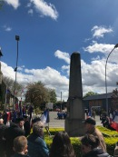 At the Bullecourt Service (pic by Tilly)
