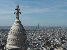 The spectacular view after 3,000 steps of Sacré-Cœur basilica (pic by Brian).