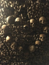 The catacombs host the bones of six million people (pic by Kerry).
