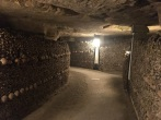 Exploring the eerie catacombs (pic by Kerry)
