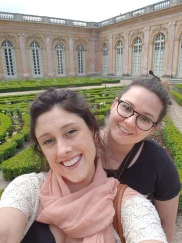 Maddie & Bree at Versailles