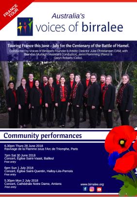 Voices of Birralee France Tour