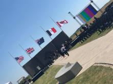 Australian Corps Memorial at Le Hamel (Pic by Sally)