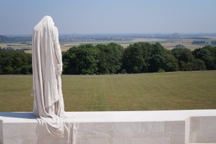 The Canadian National Vimy Memorial (pic by Heather)