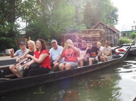 Boat ride in Amiens (pic by Brendan)