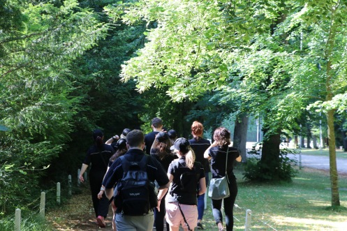 In the Compiègne forest (pic by Mark)