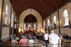 Halloy-les-Pernois community concert (Pic by Mark)