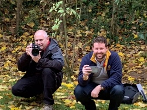 Photographers for the tour - Tony and Craig