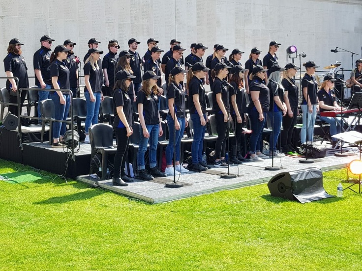 Voices of Birralee Anzac Day Centenary Choir